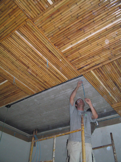 Bamboo Ceiling At Mangaratiba
