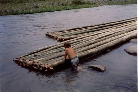 Bamboo Rafts on the Siaton River, Philippines - Bamboo Forums