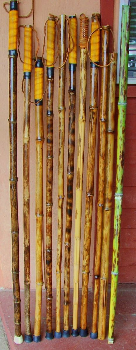 Bamboo hiking staffs phyllostachys nigra 39 bory 39 bamboo for Bamboo arts and crafts